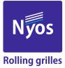 Grilaje metalice / grilaje mobile si usi rulou marca Nyos